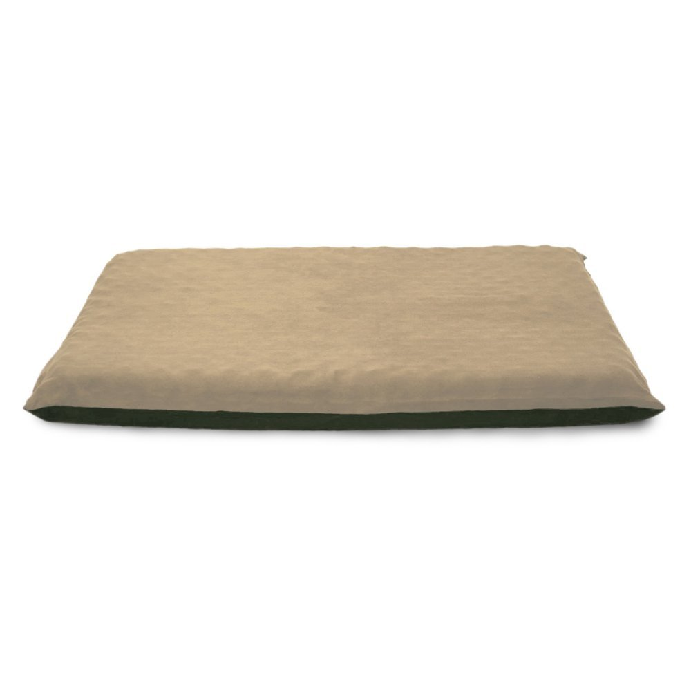 FurHaven Suede Orthopedic Mat, Large, Clay