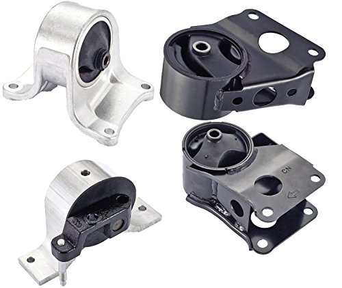 Price comparison product image Engine Motor and Trans Mount Set of 4 for 2002-2006 Nissan Altima 2.5L Compatible with Auto Trans