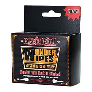Ernie Ball Wonder Wipe - Toallitas para trastes (6 unidades)