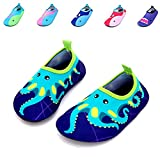 Bigib Toddler Kids Swim Water Shoes Quick Dry Non-Slip Water Skin Barefoot Sports Shoes Aqua Socks for Boys Girls Toddler