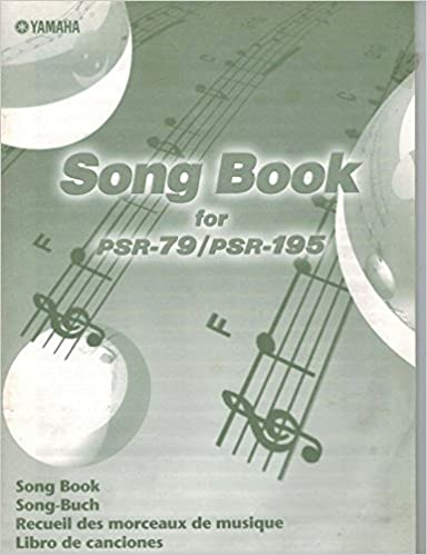 Yamaha song book for psr 79psr 195 unknown amazon books fandeluxe Image collections