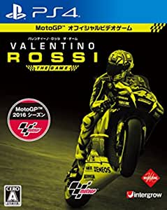 Valentino Rossi The Game PS4 Japan Import