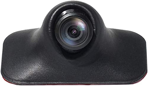 PARKVISION Mini Car Side View Camera Rear View Camera Front View Camera with Rotatable 360 Lens,Easy Installation Without Drilling, Upside Down Flip Image Function Without Guideline. S142