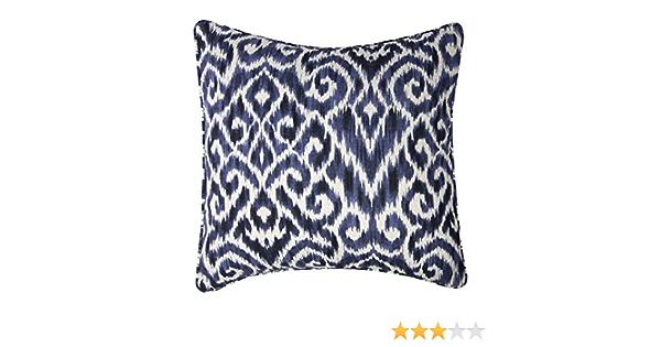 CAMDEN CUSHION 50CM INDIGO Blue Inserts Sofa Pillow Large
