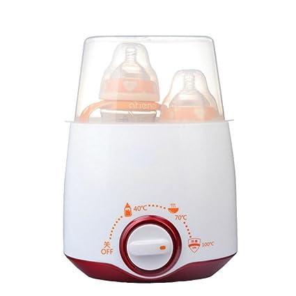 LINAG Bebé Calentador Botella Leche Calentar Eléctrico Útil Multifunción Biberones Infantiles Calentamiento Alimentos Desinfección Inteligente Temperatura