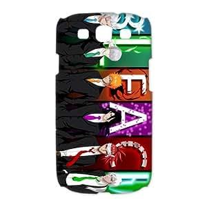Custom Japanese anime series,anime Bleach Ichigo Kurosaki SamSung Galaxy S3 I9300/I9308/I939 (3D) Hard Plastic Shell Case Cover(HD image)