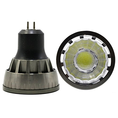 LEDIARY MR16 Bombillas LED regulables GU5.3 Bombillas de foco LED, 5 W,