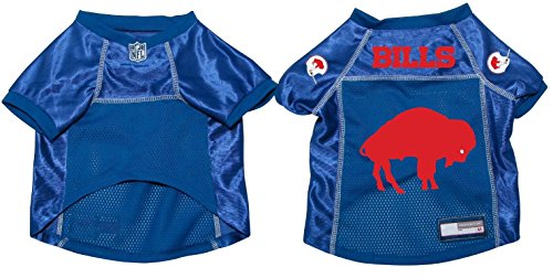 Buffalo Bills Pet Dog Football Jersey Throwback Style XL by NFL