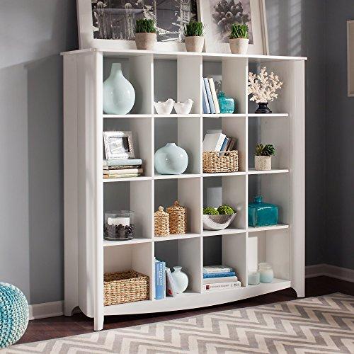 Bush Furniture Aero 16 Cube Bookcase/Room Divider & Room Divider Storage: Amazon.com