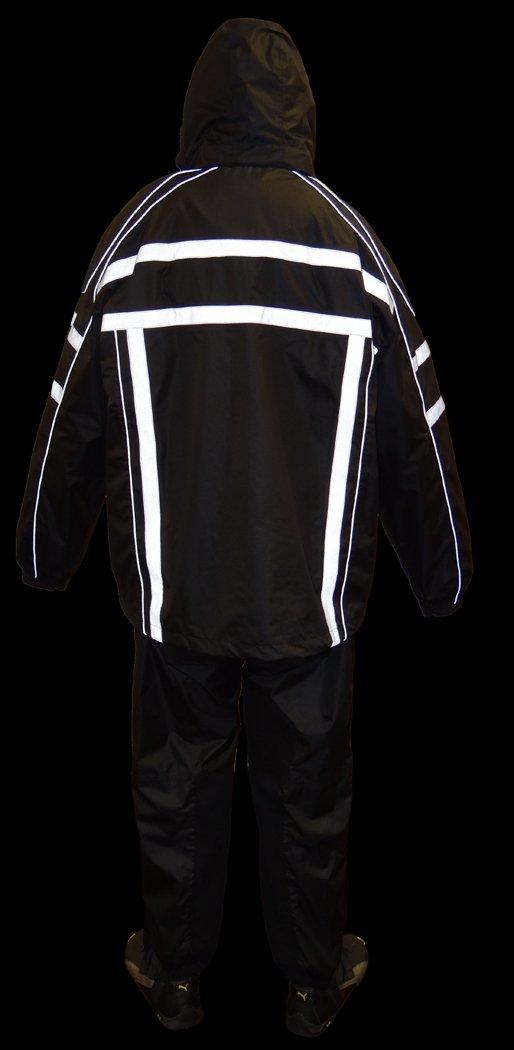 NexGen Men's Rain Suit (Black, XX-Large)