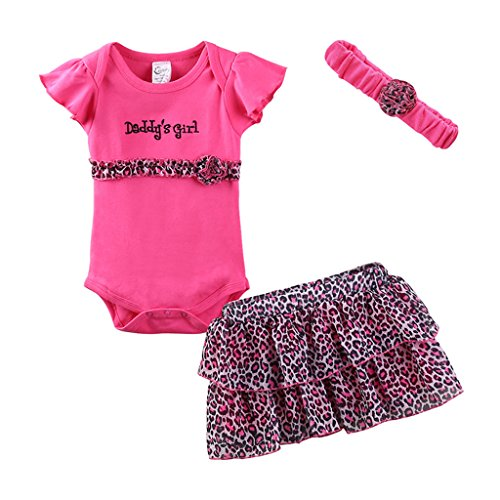 (Mud Kingdom Cute Thanksgiving Baby Girl Outfits 18-24 Months Clothes Sets Daddy's Girl 24M Rose)