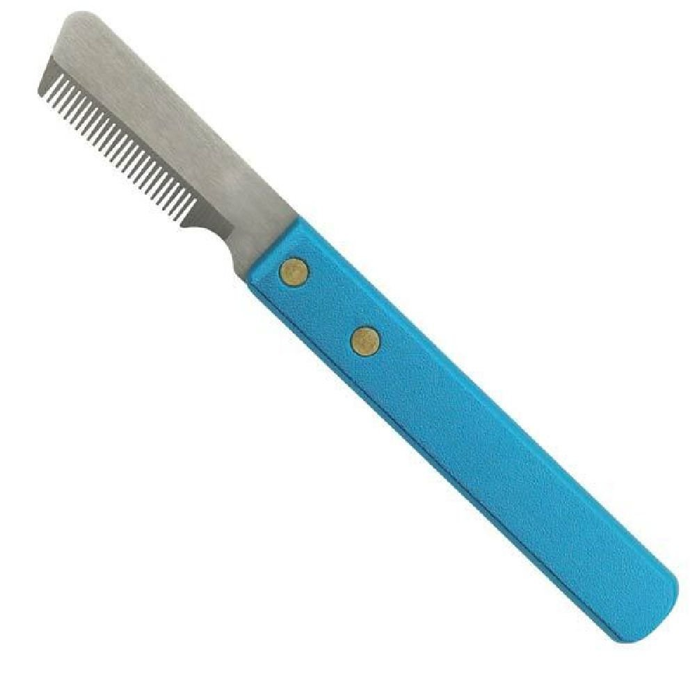 Dog Grooming Hair Coat Fur Pro Stripping Knife Stripper Carding Trimming Knives