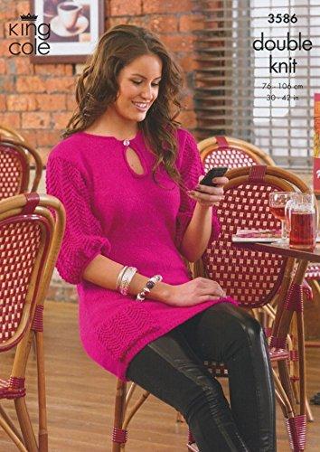 knitting pattern ladies tunic dress - 2