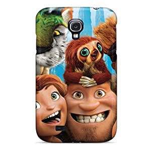 MansourMurray Samsung Galaxy S4 Protective Hard Cell-phone Case Unique Design Trendy The Croods Series [Lvp2875wpwe]