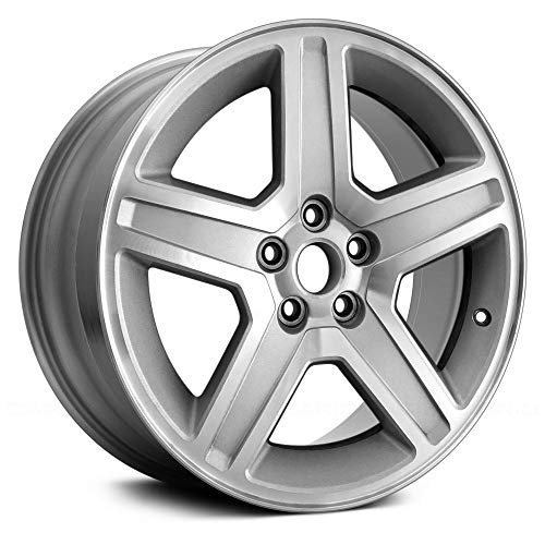 (Replacement 5 Spokes Silver Factory Alloy Wheel)