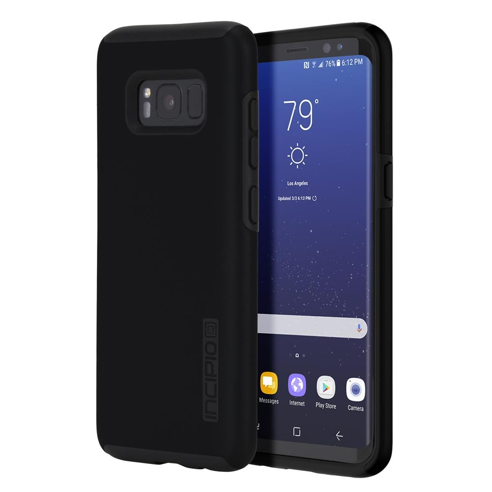the latest ae73c 2d456 Incipio DualPro Case for Samsung Galaxy S8+ - Black/Black