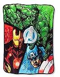 Marvel Avengers Assemble Plush Throw Blanket - 50'' x 60''