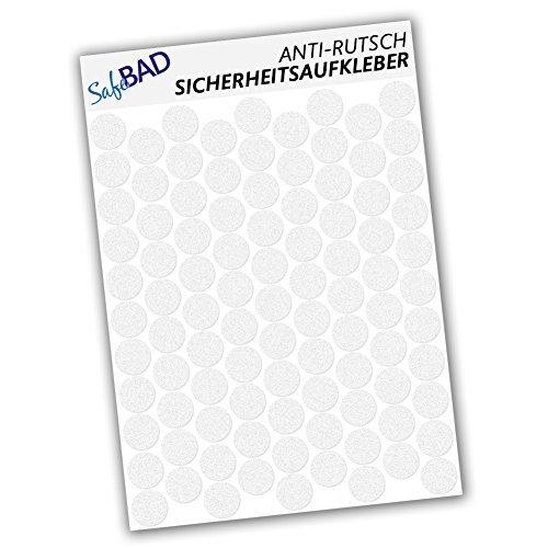 Adesivi anti-scivolo - 95 punti di adesione per pezzo da 2, 7 cm Ø per la sicurezza nella vasca da bagno e nella doccia Wandkings.de