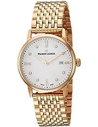 Women's 'Eliros' Swiss Quartz Tone and Gold Casual Watch(Model: EL1094-PVP06-150-1)
