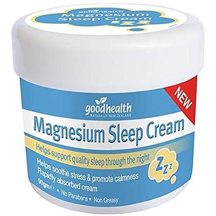 Good Health Magnesio crema para el sueño | 90g | Ayuda a mantener un sueño de