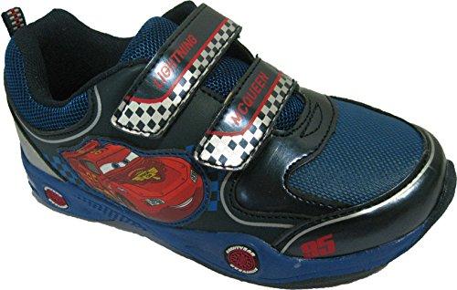 Baskets bleues Cars pour garçons