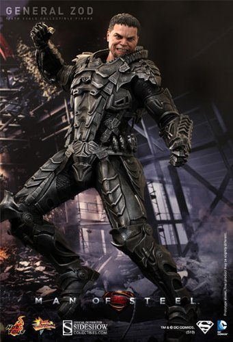 [Hot Toys Movie Masterpiece Series Man of Steel: General Zod 1/6 Scale 12