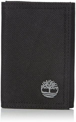 Timberland Men's Trifold Nylon Wallet