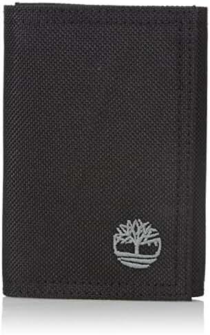 Timberland Men's Nylon Trifold Wallet