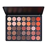 35 eyeshadow palette - Eyeshadow Palette, Makeup Palette Glitter Matte Eyeshadow 35 Colors Highly Pigmented by ETEREAUTY