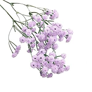 Goodtrade8 Home Clearance Artificial Silk Fake Flowers Baby's Breath Floral Wedding Bouquet Party Decor 68