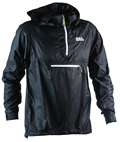 Race Packable Jacket Black X Large