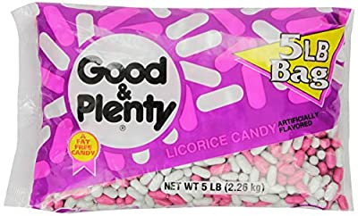 GOOD & PLENTY Candy (5-Pound Bag) by Good & Plenty
