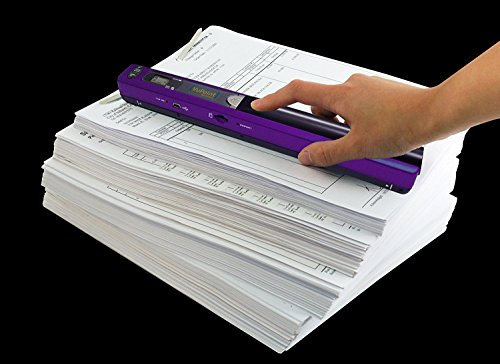 VuPoint MAGIC WAND Portable Scanner Purple PDS-ST415PU-VP