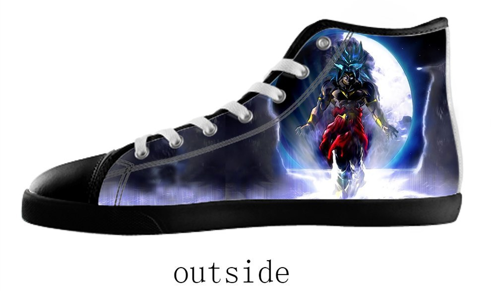 Women's Anime Style High Top Canvas Shoes Anime Style Canvas Shoes for Women EUR37=US7|Black