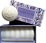 Lavender Bath Soaps by Saponificio Artigianle Fiorentino - Set of 6 Natural Ingredients Artisan Round Bars 1.76 Ounce