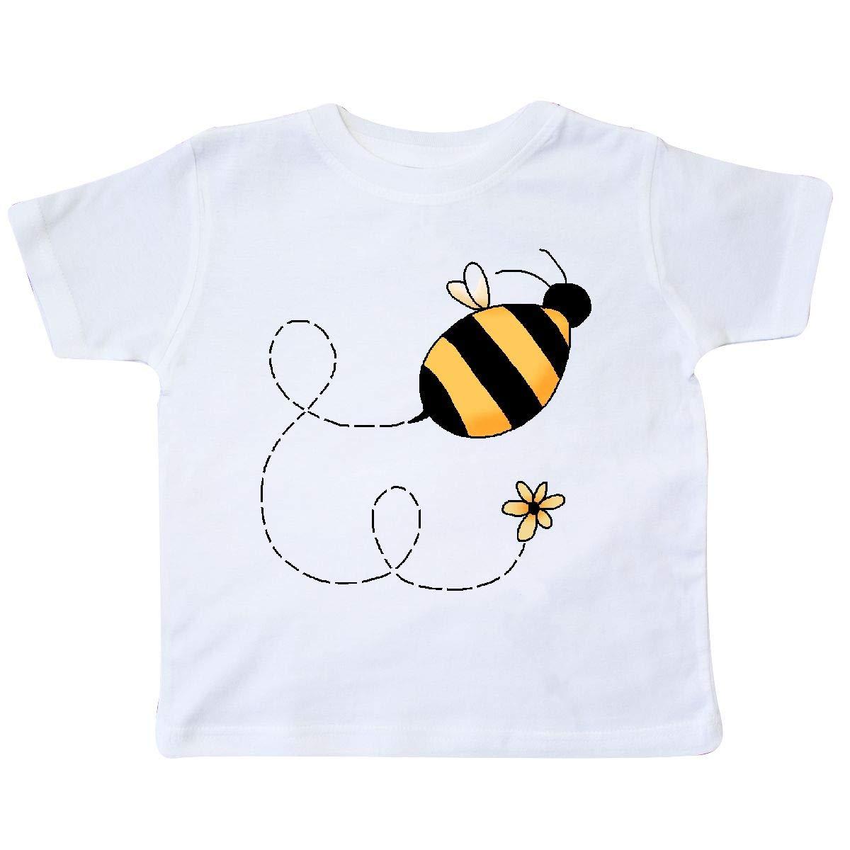 inktastic Buzzing Bee Toddler T-Shirt