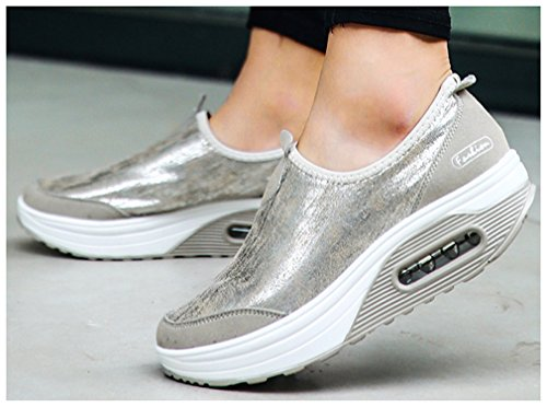 De Para Zapatillas Silber Sintético Atletismo Mujer Material Newzcers Sq5HxCw