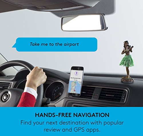 Logitech ZeroTouch with Amazon Alexa - Hands-free Car Mount and Voice Assistant App - exclusively for Android Phones - Dashboard Mount by Logitech (Image #6)