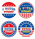 Teacher Created Resources I Voted Today Wear 'Them Badges (5898)
