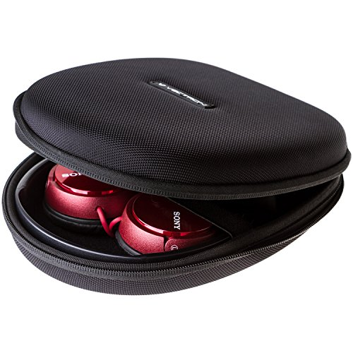 VECTRON X4 Headphone Case - For Folded Headphones Hardshell Earphone Headset Ultimate Protection For Bose QC35 25 35 Quiet Comfort Audio Sony MDR7506 ZX400 Audio Technica ATH-SJ1 AKG + Many More!