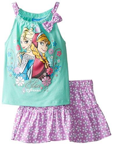 Disney Little Girls' Frozen Scoter, Teal, 6