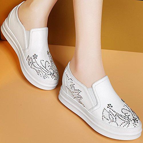 Chaussures Unique Des six Ont Augmenté Femmes Chaussures Pour À Les Étudiants Thirty Nouveaux Fond Diamond Plat KHSKX xwTaOq6a