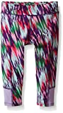 PUMA Little Girls' Active Legging Capri, Techno Dash, 6