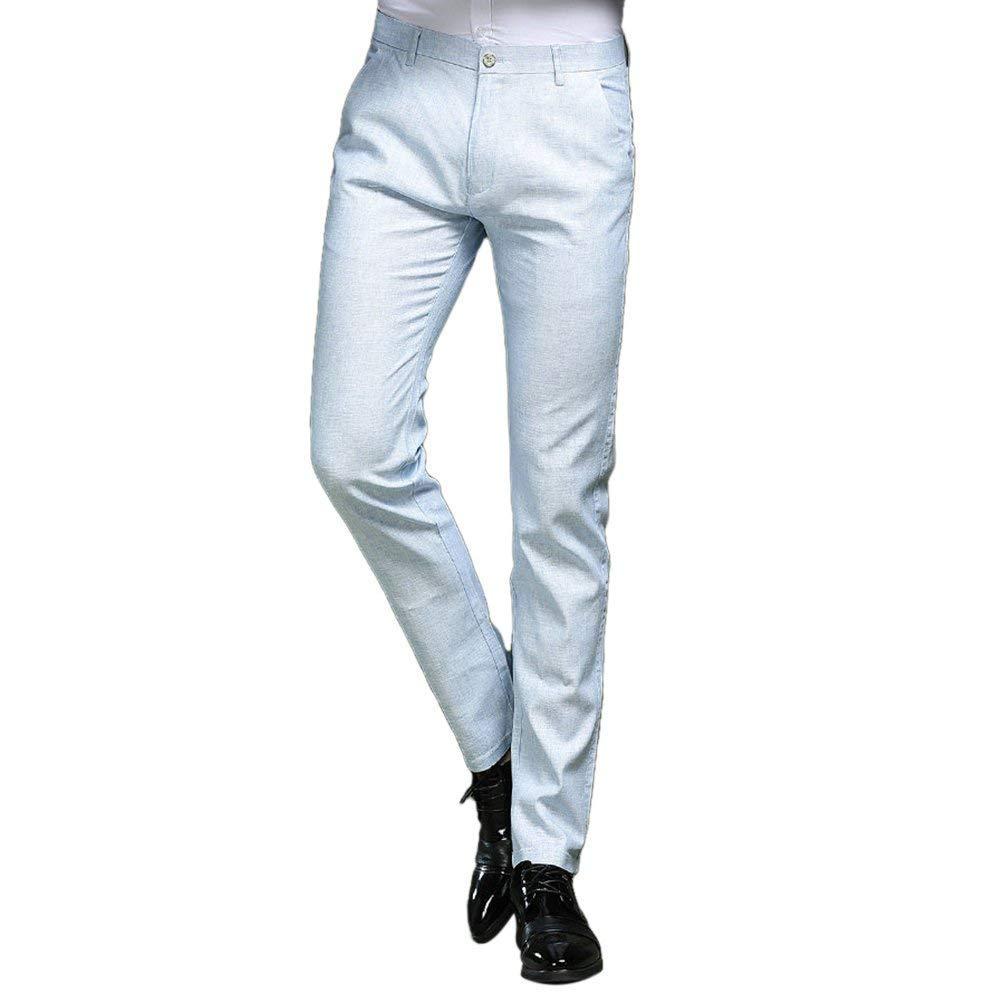 HaiDean Pantalones De Traje Pantalones Largos Pantalones De ...