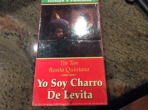 Yo Soy Charro Se Levita / Musico Poeta Y Loco (Incluye 2 Peliculas en Espanoll) VHS Tape