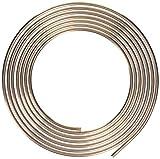 "Nickel/Copper Brake/Fuel/Transmission Line Tubing Coil, 3/8"" x 25'"