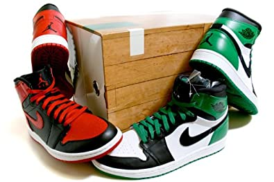 best website a5505 32bff NIKE Air Jordan Dmp 1 Retro High Celtics Mens Style   371381