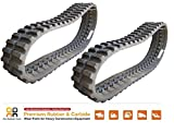 2pc Rubber Track 450x100x48 Gehl CTL 70 75 Takeuchi TL 140 240 10 skid steer