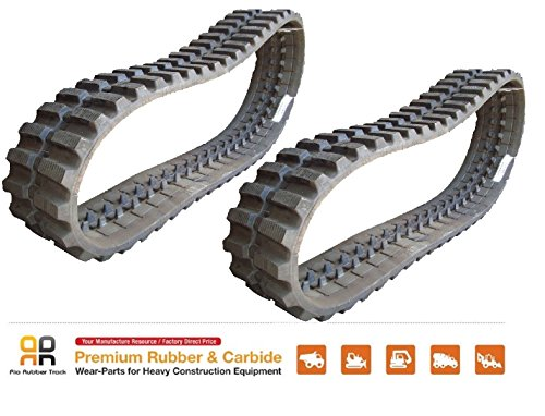2 pcs Rubber Track 450x100x48 Gehl CTL70 75 Mustang MTL20 320 Takeuchi TL140 240 from Rio Rubber Track takeuchi