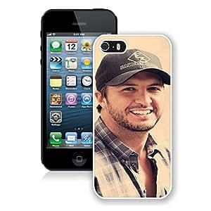 Luke Bryan White Cool Customized Design iPhone 5S Case